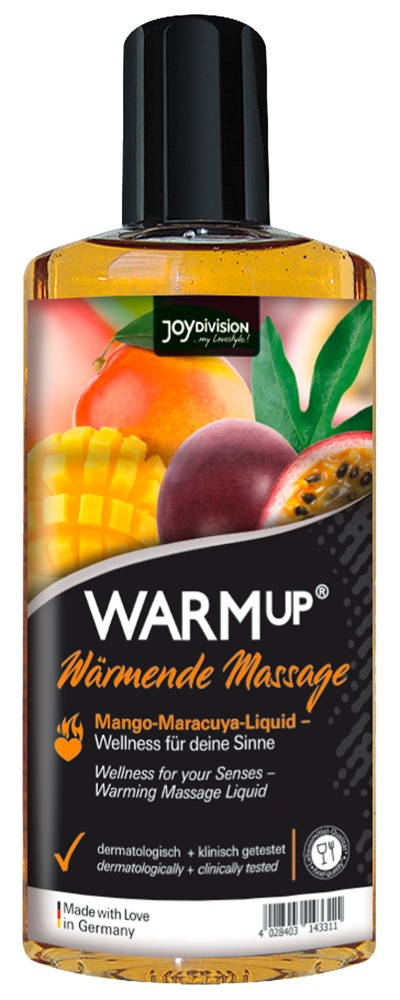 Joydivision WARMUP MANGO+MARACUYA 150 ml