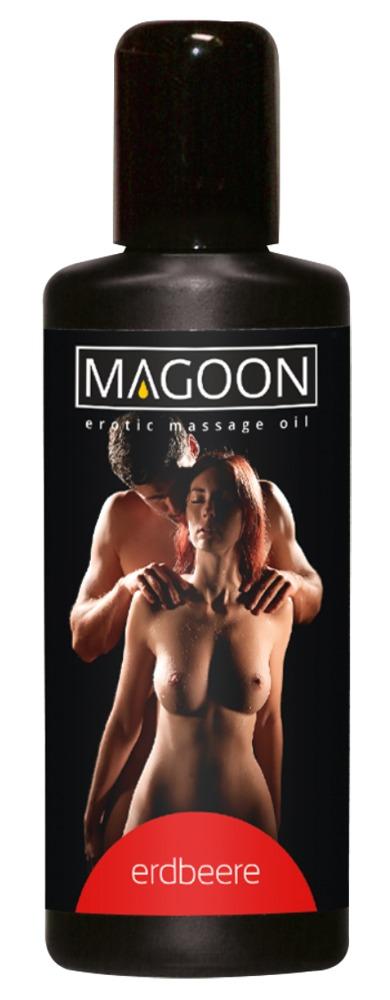 Magoon EROTIC MASSAGE OIL STRAWBERRY 100 ml