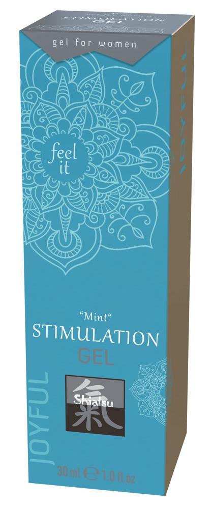 Shiatsu CLITORIS STIMULATION GEL MINT 30 ml