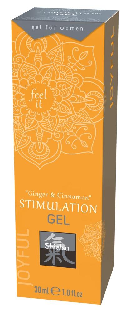 Shiatsu CLITORIS STIMULATION GEL GINGER-CINNAMON 30 ml