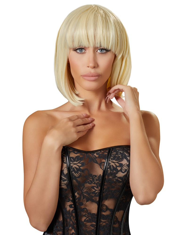 Cottelli Collection Accessories WIG BLONDE SHORT