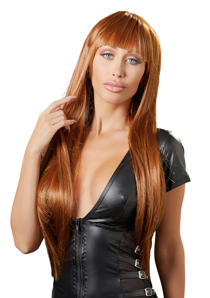 Cottelli Collection Accessories WIG COPPER LONG