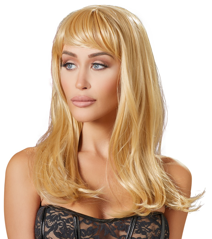 Cottelli Collection Accessories WIG HONEY BLONDE LONG