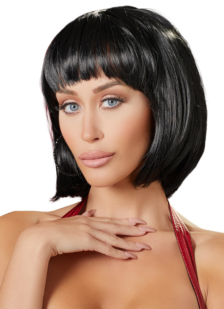 Cottelli Collection Accessories WIG BLACK BOB SHORT
