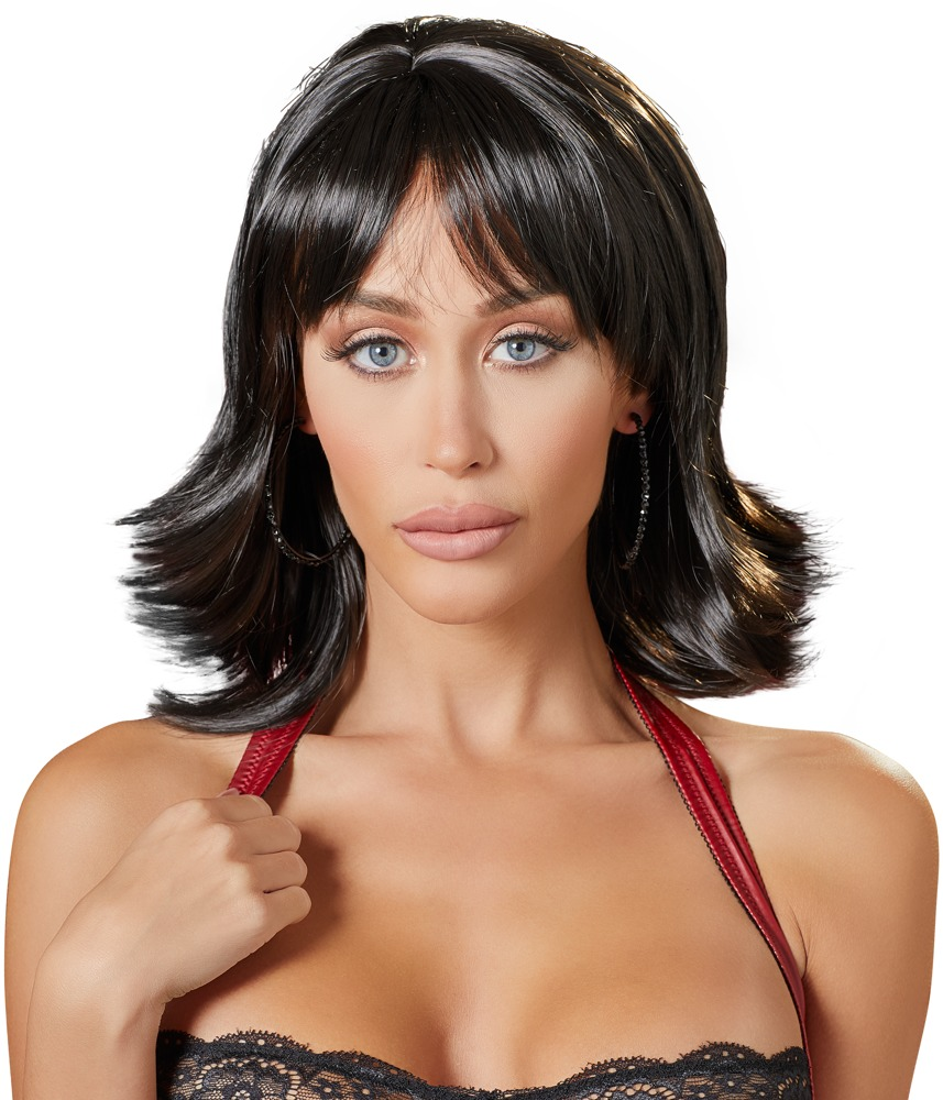 Cottelli Collection Accessories WIG BLACK SHORT