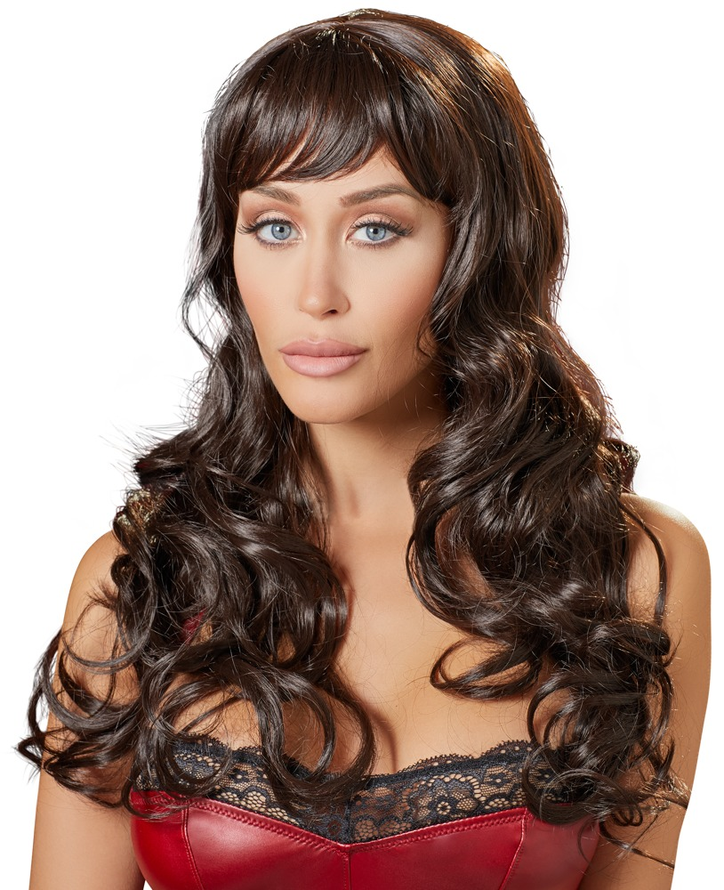 Cottelli Collection Accessories WIG BROWN LONG