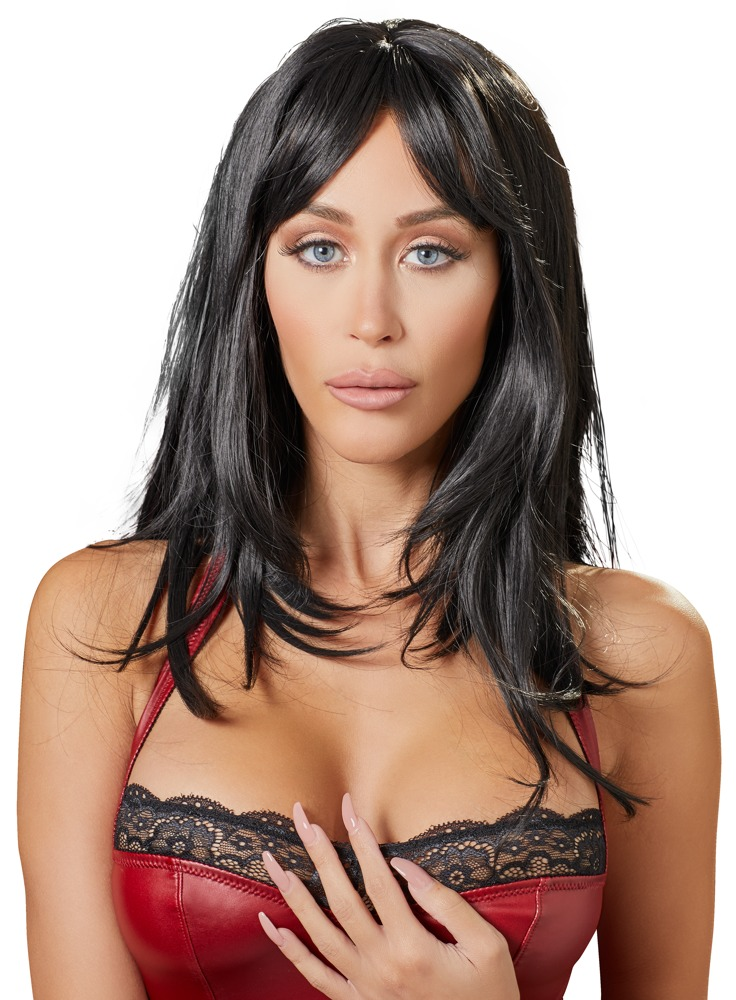 Cottelli Collection Accessories WIG BLACK LONG