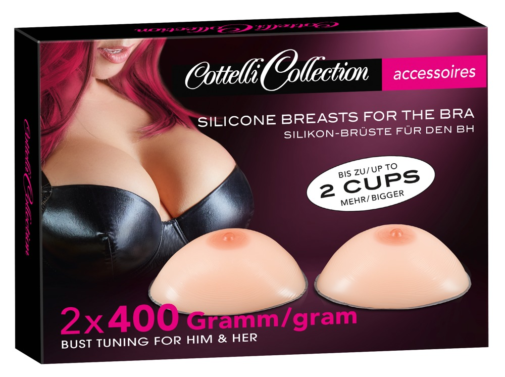 Cottelli Collection Accessoires SILICONE BREASTS 2x400G