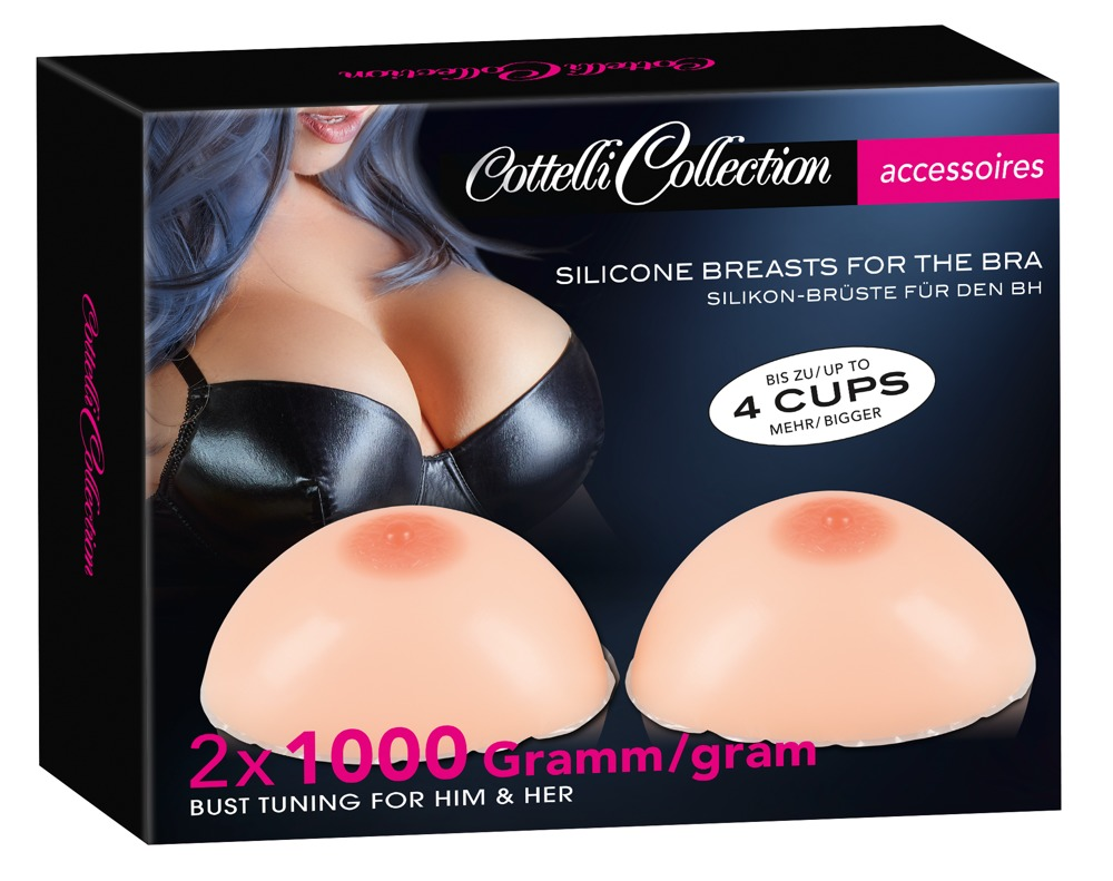 Cottelli Collection Accessoires SILICONE BREASTS 2x1000G