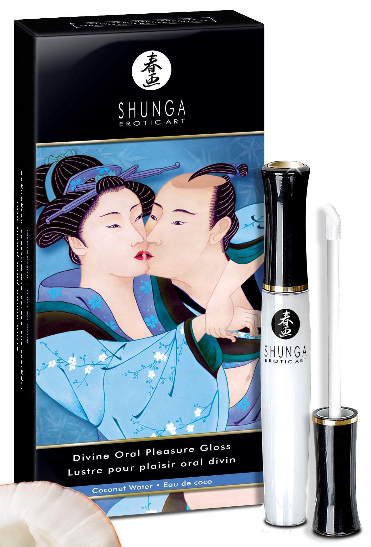 Shunga DIVINE ORAL PLEASURE GLOSS COCONUT WATER 10 ml