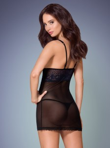 obsessive-black-semitransparent-chemise-with-dark-blue-lace-back