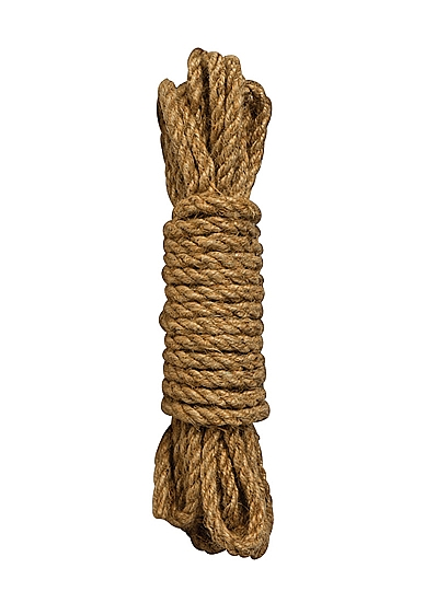 Shots - Ouch! SHIBARI HEMP ROPE BROWN 5 m