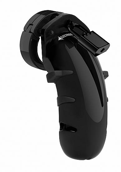 Shots - ElectroShock E-STIMULATION COCK CAGE BLACK 11.5 cm