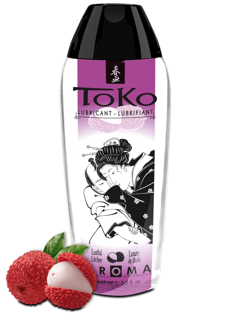 Shunga TOKO AROMA LUBRICANT LUSTFUL LITCHEE 165 ml