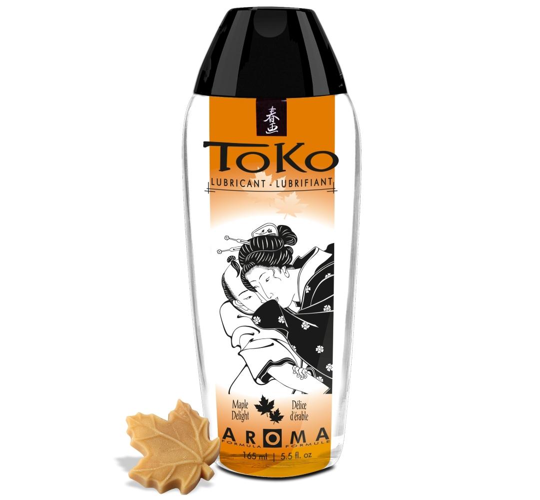 Shunga TOKO AROMA LUBRICANT MAPLE DELIGHT 165 ml