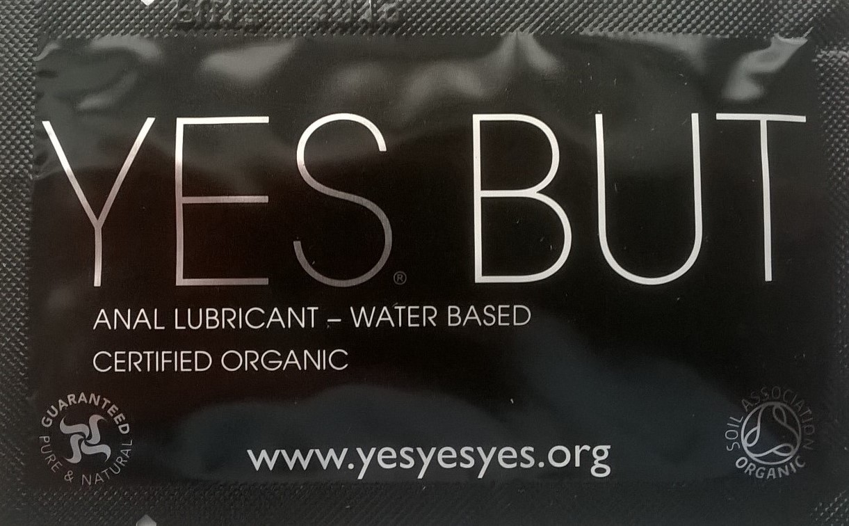 Yes BUT ANAL LUBRICANT 7 ml